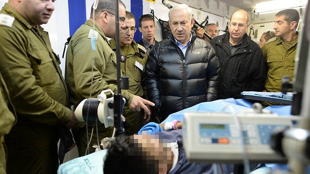 Afbeeldingsresultaat voor netanyahu bezoekt terroristen in zuid SYrie