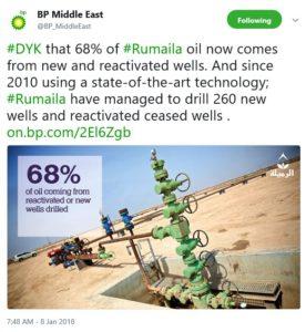 Rumaila Oil Field BP Extraction. Iraq War Oil Profiteering.
