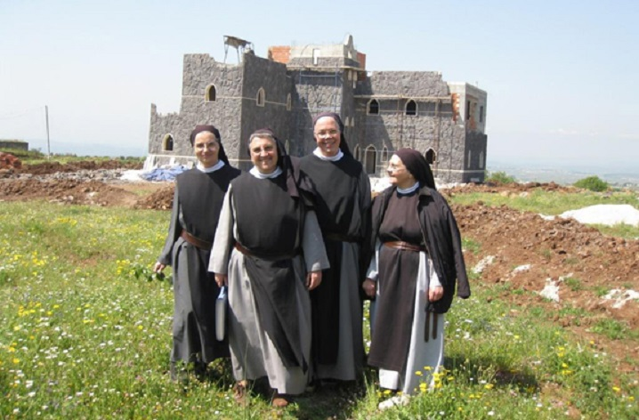 Afbeeldingsresultaat voor trappist nuns in syria