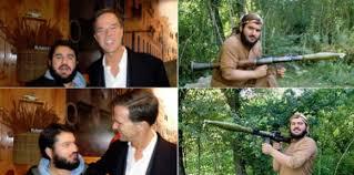 Mark Rutte, de financier en dus medeplichtige van genocidepleger Erdogan,  is nu ook vrienden met Shabir Burhani | Fubar